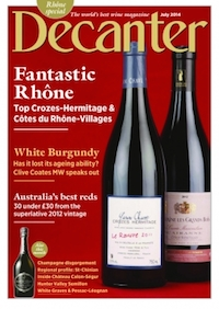 Decanter July 2014