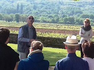 Oenology lessons at the winery with Domaine Chapelle in Burgundy, France