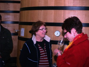 Wine Tasting from the fermentation vats