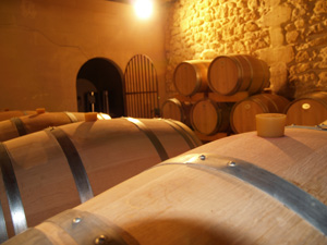 Tour of the barrel room