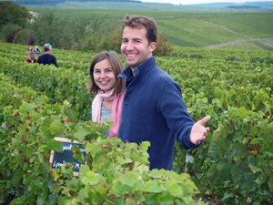 St Valentine's organic gift. Rent-a-vine in France Wine Experience.