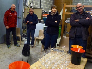 Oenology course in the Rhone Valley France