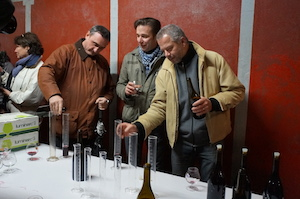 Wine blending Burgundy Chapelle