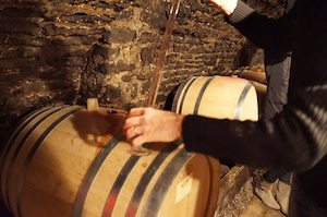 Wine tasting Domaine Chapelle Burgundy