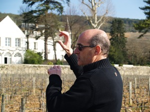 Tour of the vineyard with the winemaker