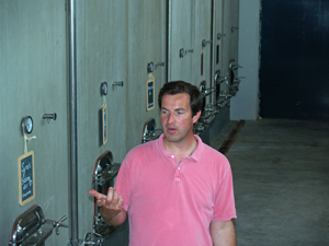 Tour of the fermentation hall and cellar