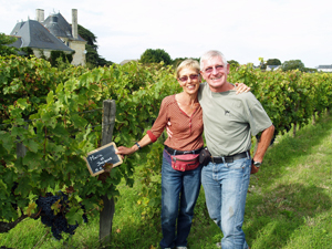 Vine adoption in Chinon Loire Valley