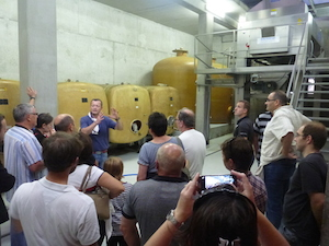 Wine making courses about wine fermentation in Alsace France