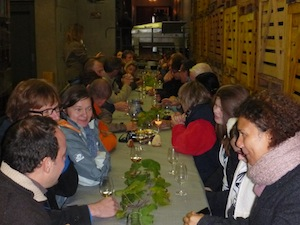 harvest winemaker meal france stentz buecher