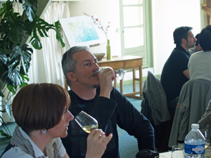 Tasting the Chablis Wines