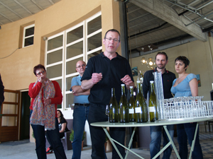 Tasting the unfinished 2011 vintage