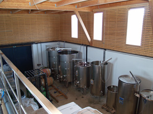 Visit of the fermentation hall