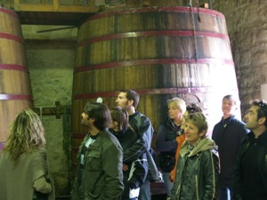 Visit of the Wine Cellar and Chai