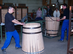 Visit of the Tonnelerie Nadalié Cooperage