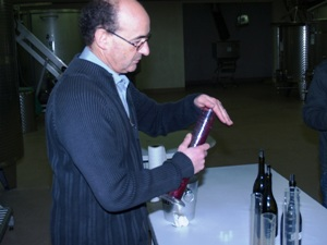 Blending wines from different aged vines