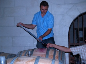 Wine Tasting 2009 Bordeaux straight from the barrel