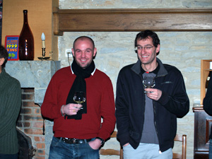 Wine tasting at Domaine Chapelle Vinification Experience Day