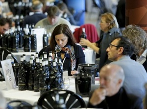 The wine professionals taste over 1400 wine samples