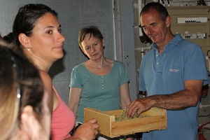 Biodynamic winemaking course at Domaine la Cabotte