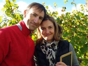 Adopt-a-vine gift in an organic Alsace vineyard