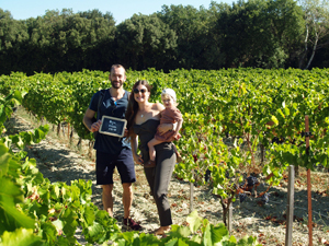 Adopt a vine gift and personalised bottles of biodynamic wine