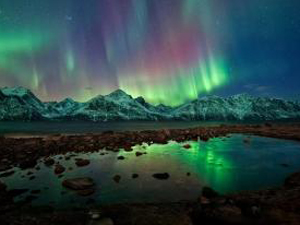 Top St Valentine's gift ideas.  Fall for the charm of the Northern Lights