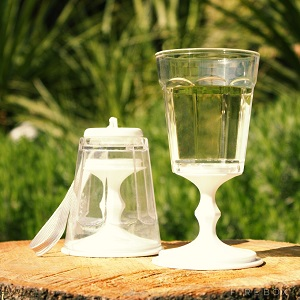 The portable wine glass seen on Firebox