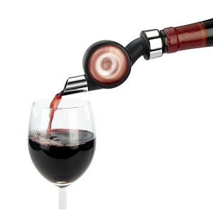 The wine aerator seen on Comment Se Ruiner