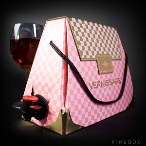 The wine box bag seen on Firebox