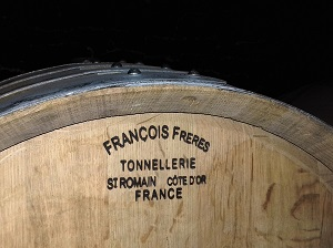 Wine aageing process in Burgundy France