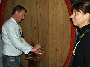 Organic wine tasting gift experience in an organic Alsace winery