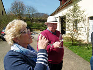 Organic wine tasting gift experience in Alsace, France