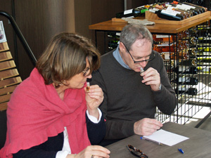 Workshop to develop the wine tasting senses