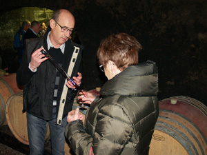 Wine-tasting experience gift in a French organic winery