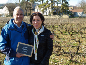 Rent-a-vine gift in an organic French vineyard