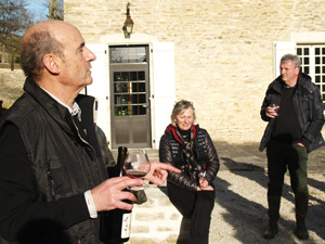 Wine-making experience present in Burgundy, France