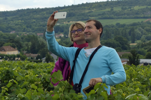 Adopt-a-Vine gift in France with personalised bottles of your own organic wine