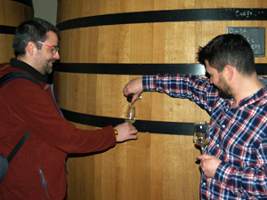 Winery tour gift to learn about making biodynamic wines