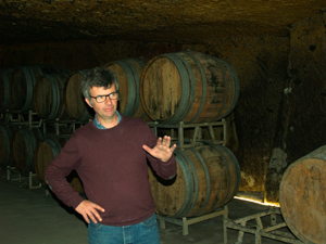 Learning the art of wine-making in the Loire Valley