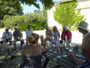 Wine tasting gift experience with the Cotes du Rhone winemakers