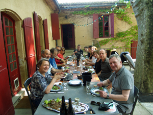 Wine tasting experience and lunch at a biodynamic Cotes du Rhone winery