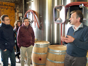 Winery tour gift with the winemaker in Saint-Emilion