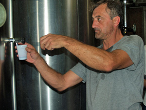Organic wine-making gift in Bordeaux