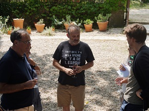 Organic and biodynamic wine tasting at Domaine de la Guicharde
