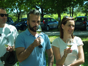 Organic wine tasting in the Loire Valley, France