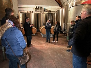Wine-making course in a French winery in Chinon, France