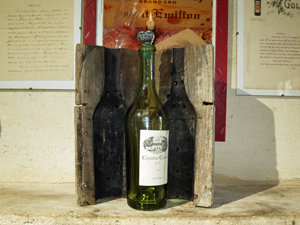 The cuvee Emeri, one of the world's oldest bottles of wine