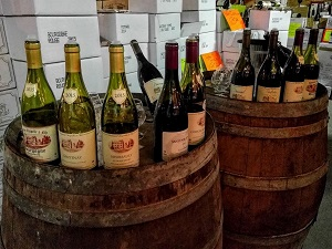 Wine tasting at French fairs, meet Domaine Chapelle