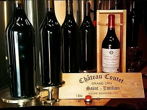 Wine tasting at French fairs, meet Château Coutet