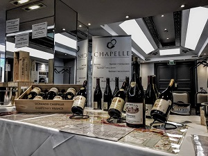 2017 Wine fairs Domaine Chapelle Burgundy